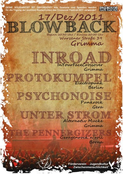 BLOWBACK - Festival in Grimma